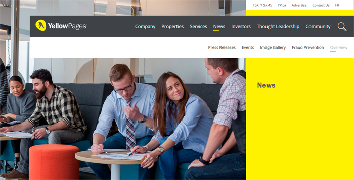YellowPages After the Brand Refresh